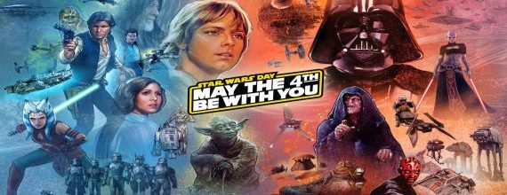 Happy Star Wars Day and May The 4th Be With You