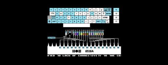 C64 Joystick and Keyboard Diagnostic Tool